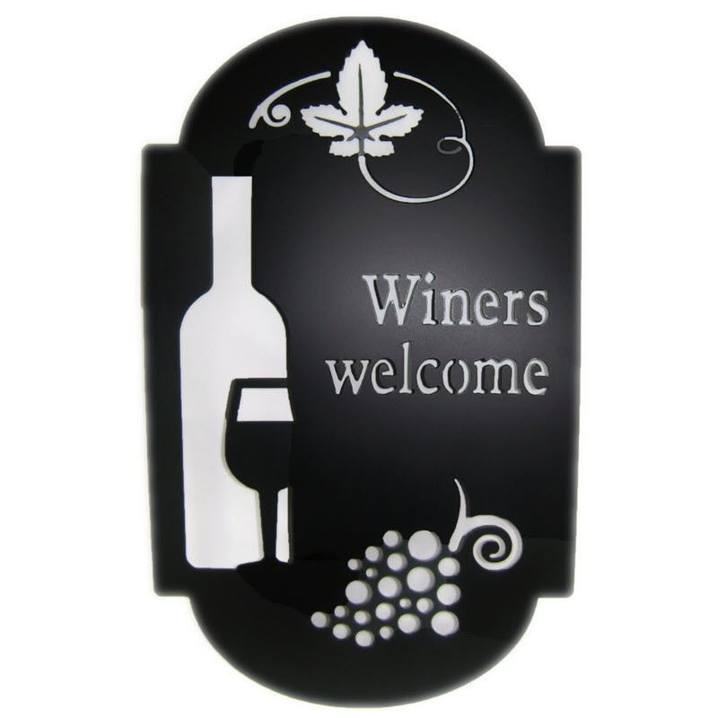 Winers Welcome Sign
