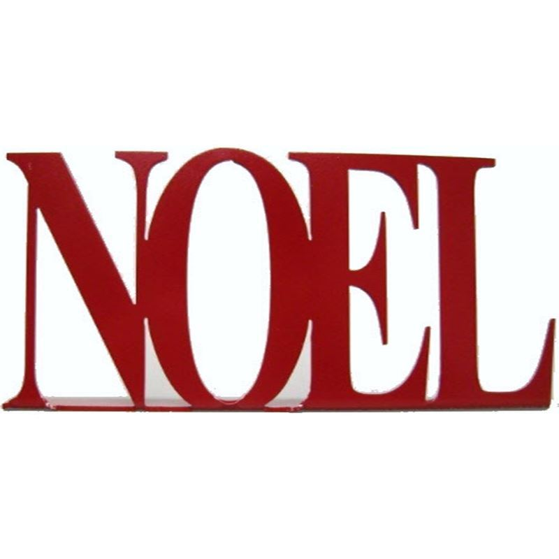 Noel Holiday Home Decoration, Standing Display, 11″ Wide, 4″ Tall